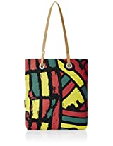 Kanvas Katha Women's Tote Bag (Black) (KKST001B)