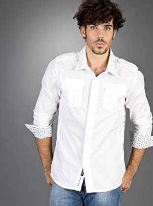 Andy Warhol by Pepe Jeans Camisa Cable (Blanco)