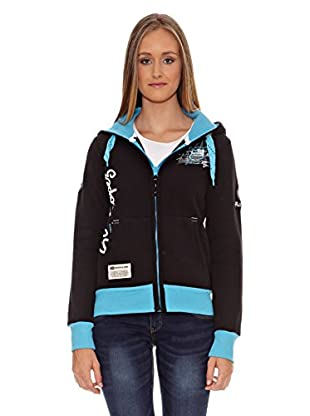 Geographical Norway Sudadera Fructueuse Lady (Negro)