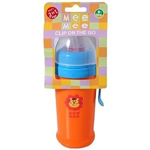 Mee Mee Clip On The Go Orange 250 ml