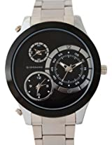 Giordano Analog Black Dial Men's Watch - 60061 DTMM IPS Black
