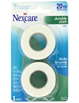 Nexcare Durable Cloth Carded 1-Inch Wide First Aid Tape, 10-Yard Roll, 2-Count
