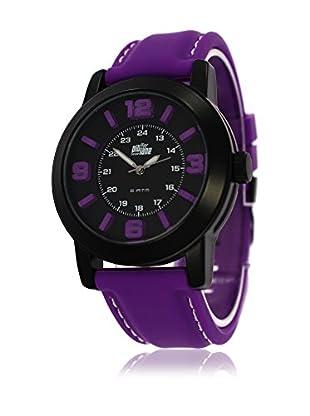 Pit Lane Uhr mit Miyota Uhrwerk Pl-3002-2 violett 44 mm
