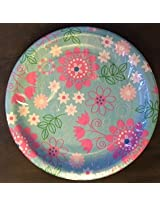 Floral Slumber Party Plates, 6 3/4 Inch