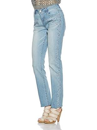 Cream Jeans Crystal (light denim)