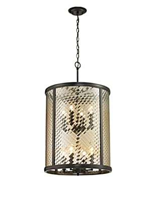 Artistic Lighting Chandler Collection 8-Light Pendant, Oil Rubbed Bronze