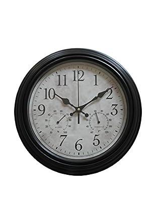 Reloj Doble Negro