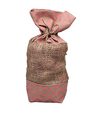 Jodhpuri 12-Oz. Rose Potpourri in Jute Bag, Pink