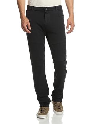 Rogue Men's Solid Moto Sweatpant (Black)