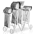 Pogo Anthem Stainless Steel Cutlery Set With Stand 25 Pcs