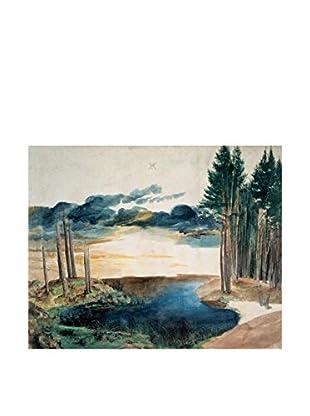 LegendArte  Wandbild Ein Teich im Wald von Albrecht Duerer
