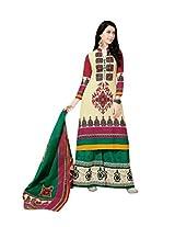 AARVI PRINTED DRESS MATERIAL
