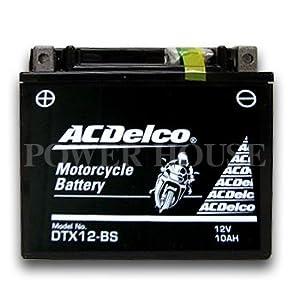 【クリックで詳細表示】Amazon | ACDelco [ エーシーデルコ ] シールド型 バイク用バッテリー DTX12-BS | バイクバッテリー | 車&バイク