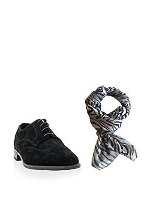 Ortiz & Reed Zapatos derby + Fular SET-ZMP1-BU21
