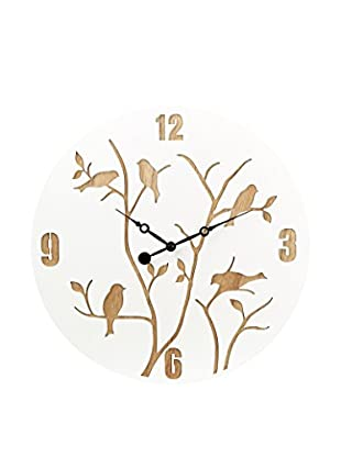 HOME FURNITURE Reloj De Pared Birds