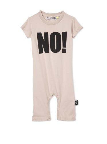 NUNUNU Baby NO! Play Suit (Pink)