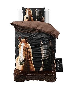 SleepTime Juego De Funda Nórdica Horses