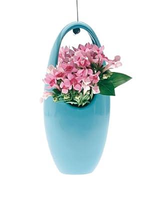 Chive Blue Hanging Aerium Egg Vase