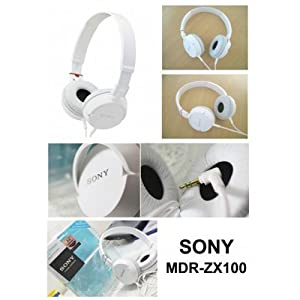 OEM MDR ZX100 Headphone (White)