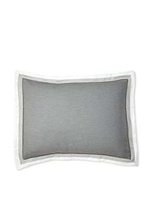 Belle Epoque Horizon Sham (White/Grey)