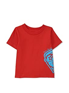Questkids Boy's Ice Cream Cone T-Shirt (Red)