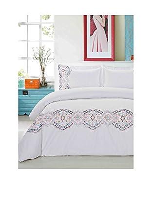 Mélange Home Morocco Embroidered Duvet Set
