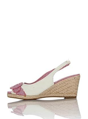 Miss Roberta Slingback Open-toe (Ghiaccio)