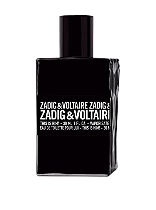 ZADIG & VOLTAIRE Eau de Toilette Herren This Is Him! 30.0 ml, Preis/100 ml: 119.96 EUR