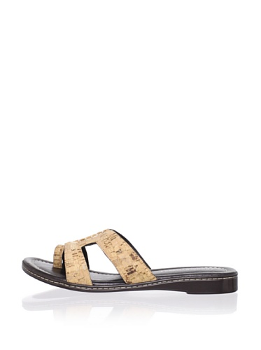 Donald J Pliner Women's Gera Flat Sandal (Natural)