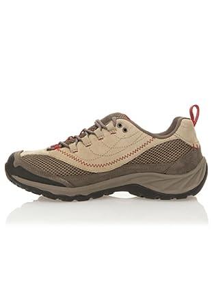 Hi-Tec Zapatos Trekking Storm Lace W / P (Safari / Topo / Rojo)