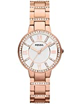 Fossil Virginia ES3284 Analogue Watch - For Women
