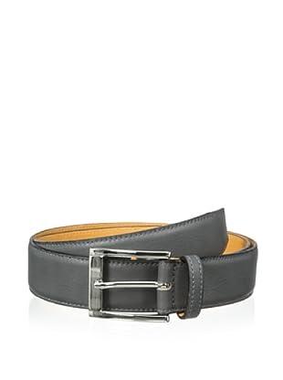 Leone Braconi Men's Sauvage Bullskin Belt (Gray)