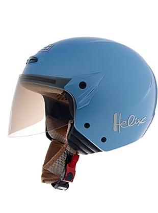 NZI Casco Abierto Pantalla Helix Macm (Azul)