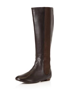 Delman Women's Paris Knee-High Boot (Brown)