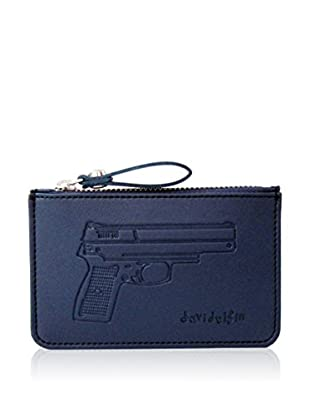 davidelfin Monedero Key Purse Azul