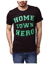 Yepme Men's Black Cotton T-Shirt-YPMTEES0429_L