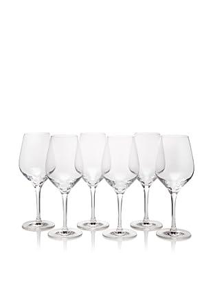 Stölzle Set of 6 Exquisit White Wine Glasses, 12-Ounce