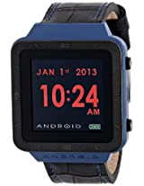 ANDROID Unisex AD721BBU SmartWatch GTS Digital Quartz Black Watch