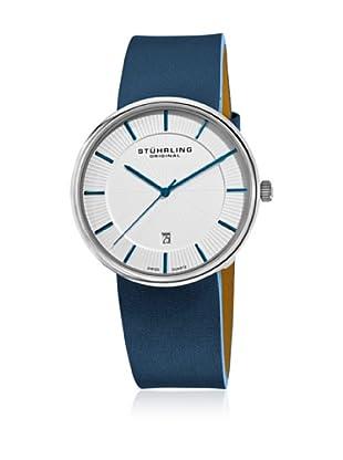 Stührling Uhr mit Schweizer Quarzuhrwerk Fairmount blau 42 mm