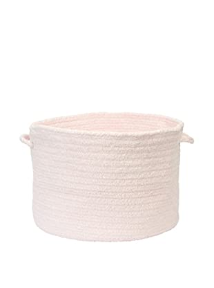 Colonial Mills Simple Chenille Basket (Blush Pink)