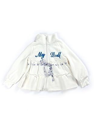 My Doll Sweatshirtjacke My Doll (Weiß)