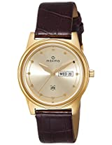 Maxima Analog Gold Dial Men's Watch - 38690LMGY
