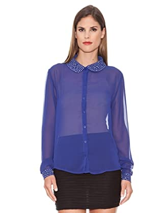 Azura Camisa Abalorios (Azul)