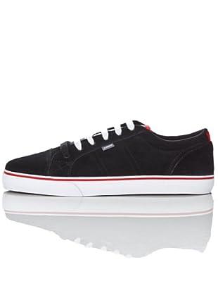 Element CARNEGIE 2 ECASL101B6057 - Zapatillas de deporte de ante para hombre (Negro)
