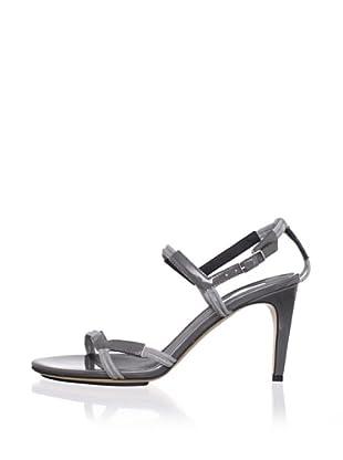 Calvin Klein Collection Women's Kani Ankle Strap Sandal (Ash/Ash)