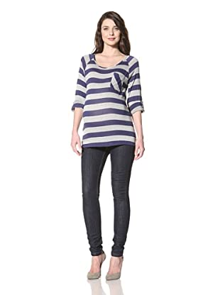 NOM Women's Nina Tunic (Stripe)