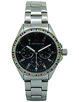 Giordano Analog Black Dial Women's Watch - A2002-11