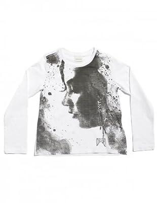 Diesel Kid T-Shirt Tufos (Weiß)