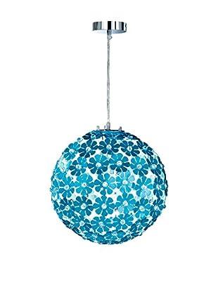 Honsel Lámpara De Suspensión Honsel cromo/Azul