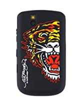 Ed Hardy Silicone Tiger Skin for BlackBerry 9630 - Black